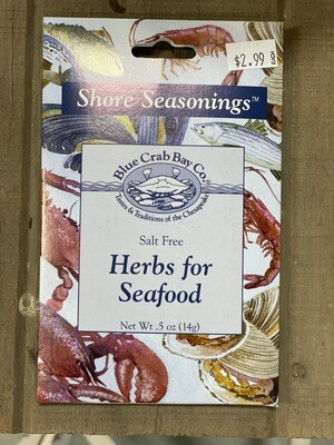 Herbs For Seafood Packet