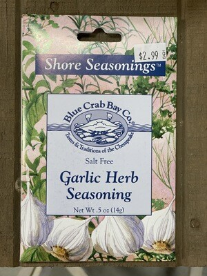 Garlic Herb Seasonings Packet
