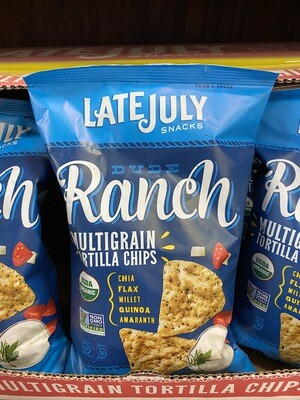Ranch Tortilla Chips (Late July)
