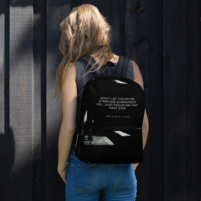 One Step At A Time Backpack