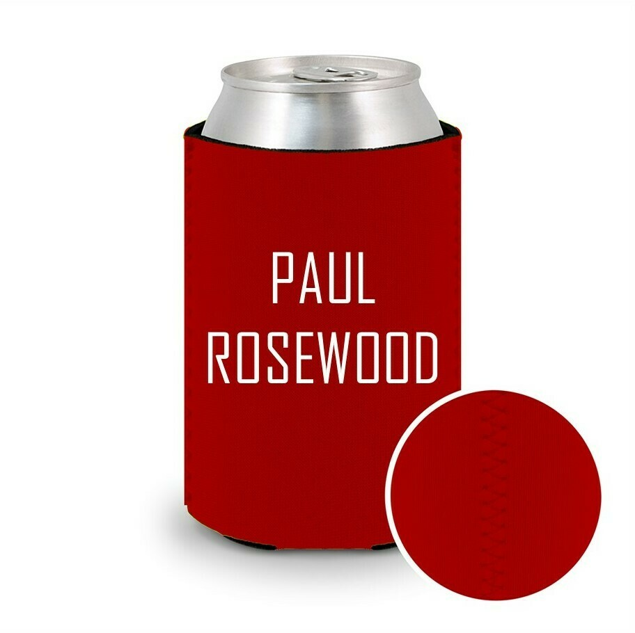Red Beer Koozie