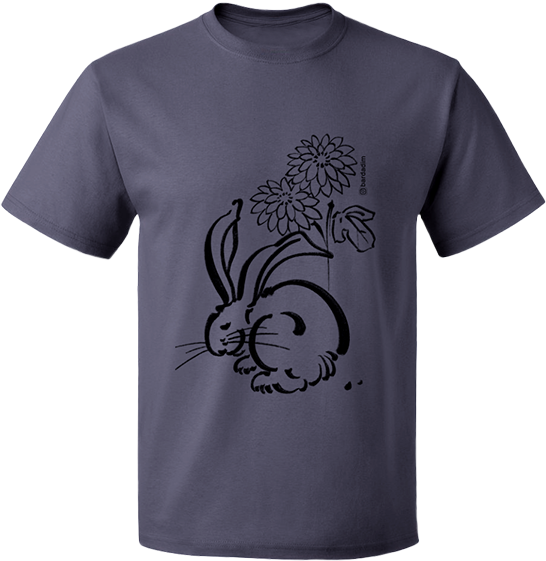 Rabbit & Flower T-shirt