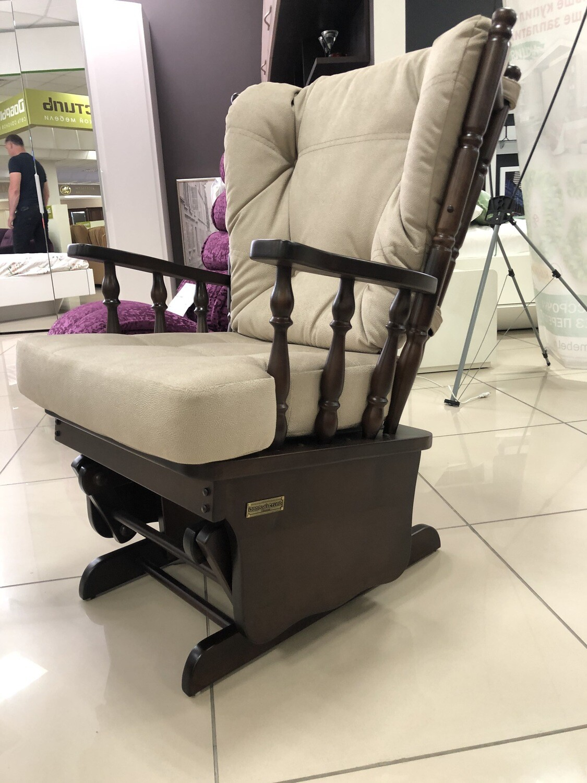 Кресло глайдер Классика орех