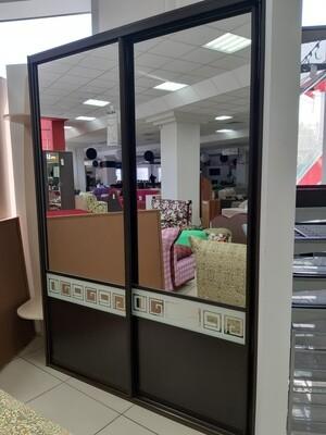 Угловой встроенный шкаф - купе