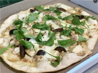 CHICKEN FIG BIANCA (no tomato) PIZZA