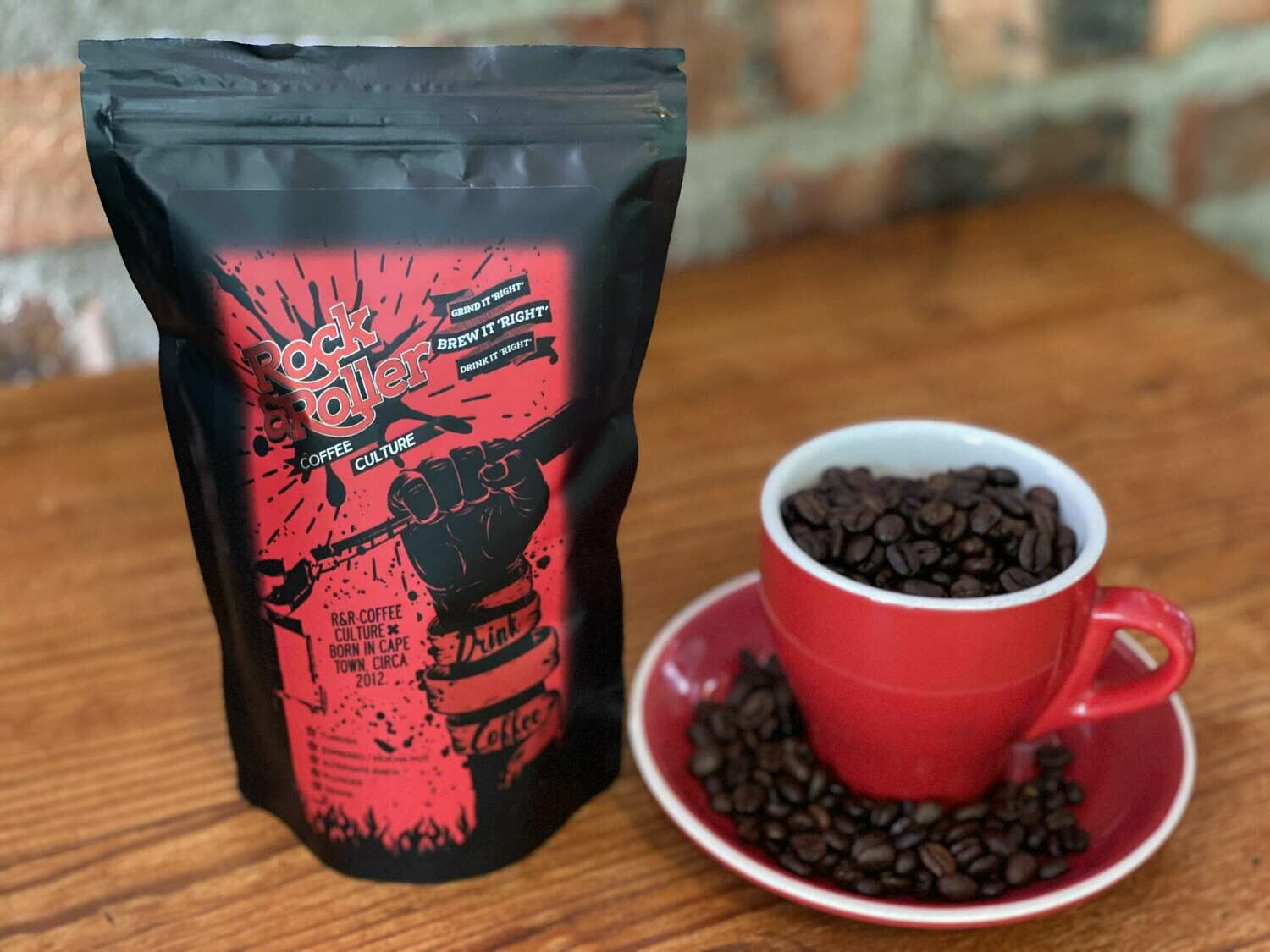 "Rock & Roller Coffee 250g ""Beans"""