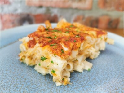 Three Cheese macaroni (servers 2-4) Frozen