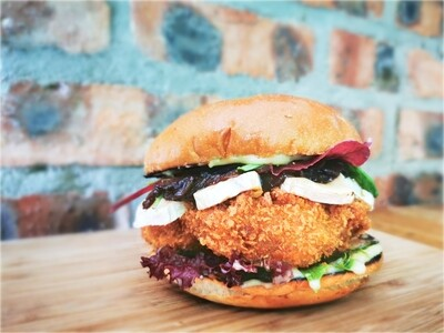 STOUT CHICKEN BURGER Special