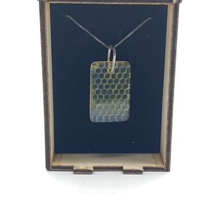 Ryan Teurfs Honey Glass Pendant
