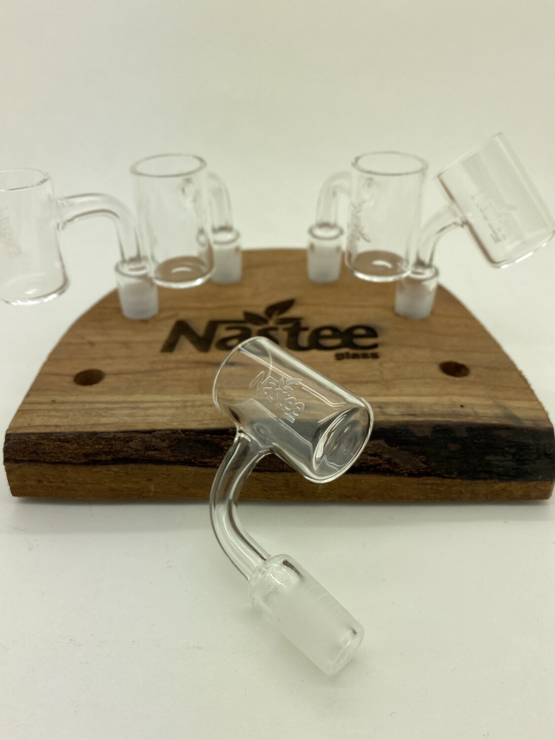 Nastee Glass Quartz Banger - 25MM Flat Top