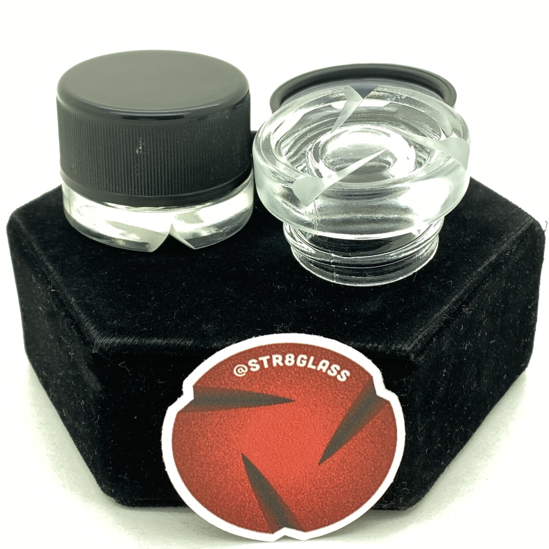 Str8 Glass Spinner Jar #2