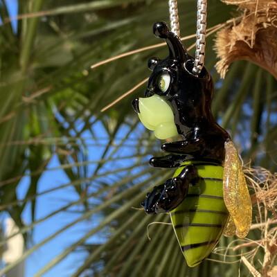 Coyle Condenser x Bose Oner Bee Bear Pendant