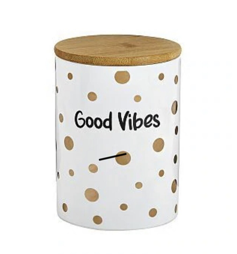 FASHIONCRAFT STASH JAR - GOOD VIBES