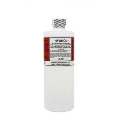 ISOPROPYL ALCOHOL - 99% - 16 OZ.