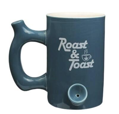 ROAST & TOAST CERAMIC MUG - TEAL BOLD - LARGE