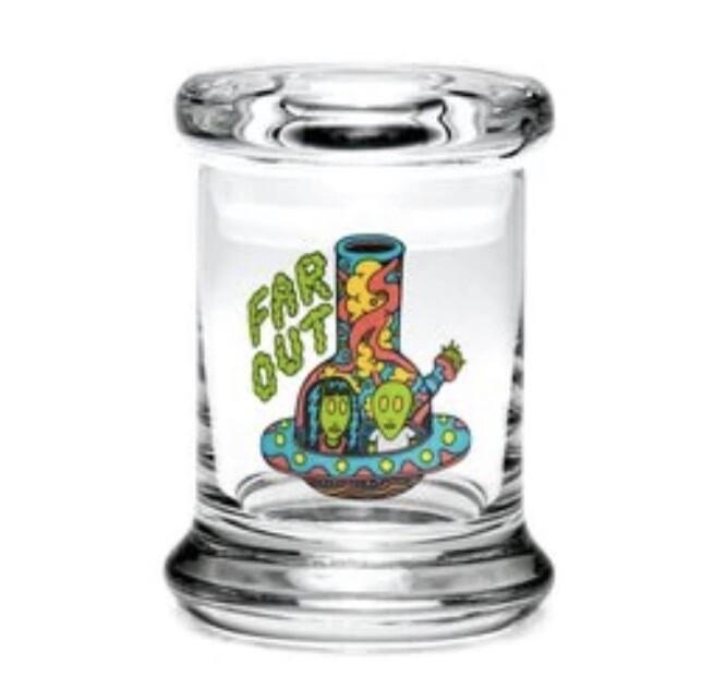 420 SCIENCE POP-TOP JAR - FAR OUT - Medium