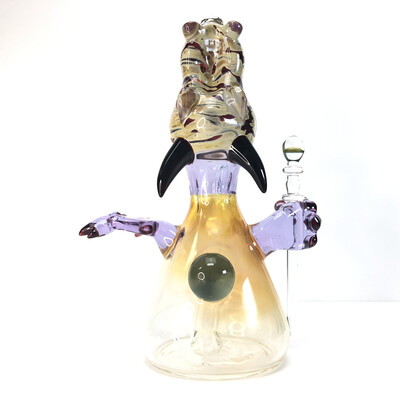 Lizard Stix x Cal Smith Dragon Rig w/ Hands and removable dabber