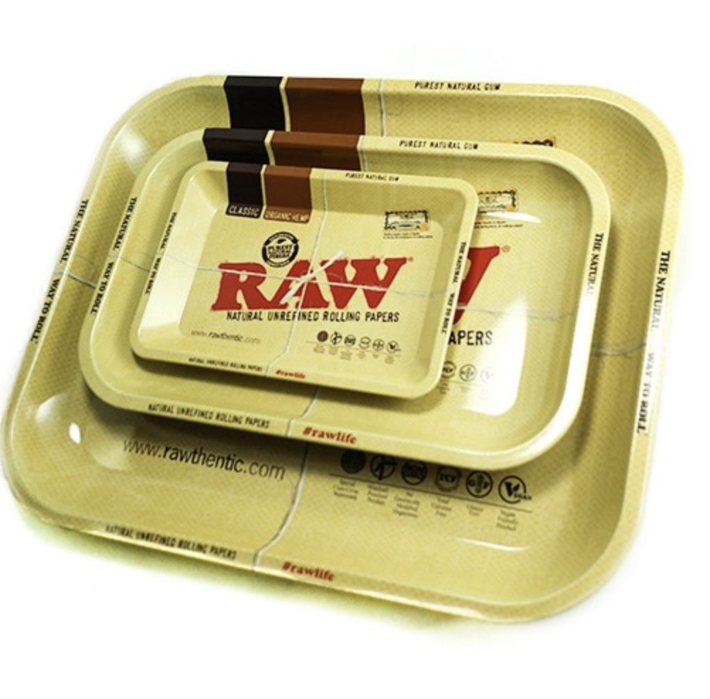 RAW HIGH SIDED ROLLING TRAY - WS