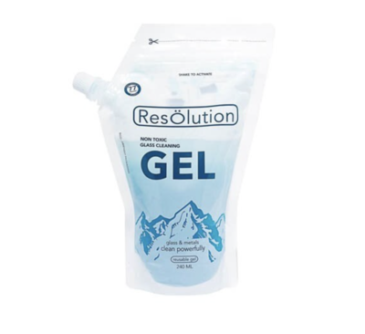 RESOLUTION GEL - GLASS CLEANER - WS