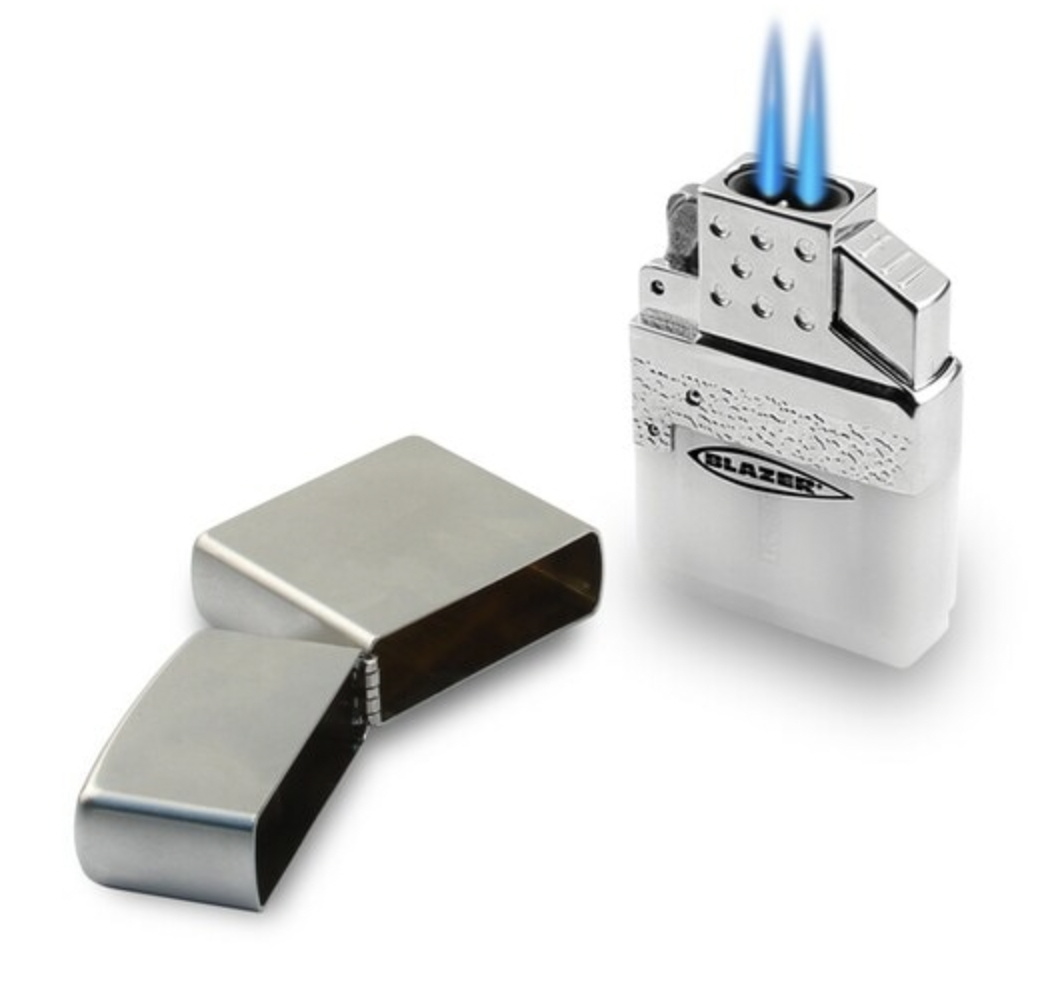 BLAZER TOP-Z DUAL TORCH FLAME LIGHTER INSERT FOR ZIPPO & SIMILAR - WS