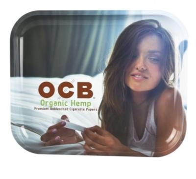 OCB - METAL TRAY - ORGANIC HEMP - WS