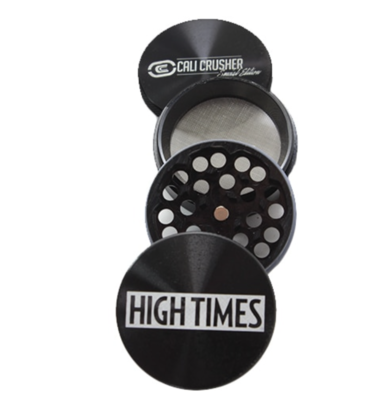 CALI CRUSHER / HIGH TIMES LIMITED EDITION GRINDER 4 PIECE GRINDER - WS