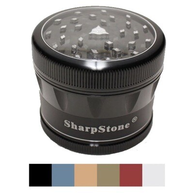 SHARPSTONE® 4 PIECE V2 CLEAR TOP GRINDER - WS