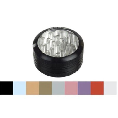 SHARPSTONE® 2 PIECE CLEAR TOP GRINDER - WS