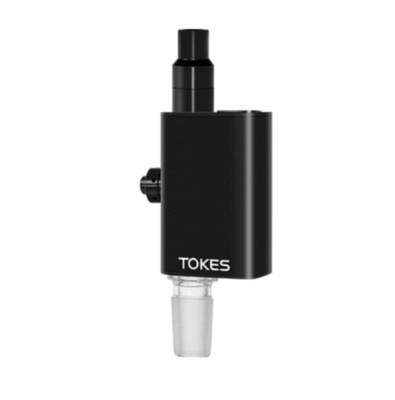 TOKES DUAL-USE WAX VAPORIZER W/ 14MM MALE ADAPTER - (COLOR) - WS