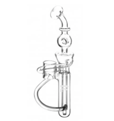 PULSAR HAND E-NAIL V3 GLASS RECYCLER MOUTHPIECE - WS