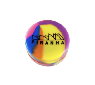 PIRANHA - SILICONE CONTAINER - ASSORTED COLORS - WS