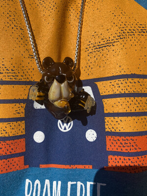 Coyle Condenser x Bose Oner Honey Bear Pendant