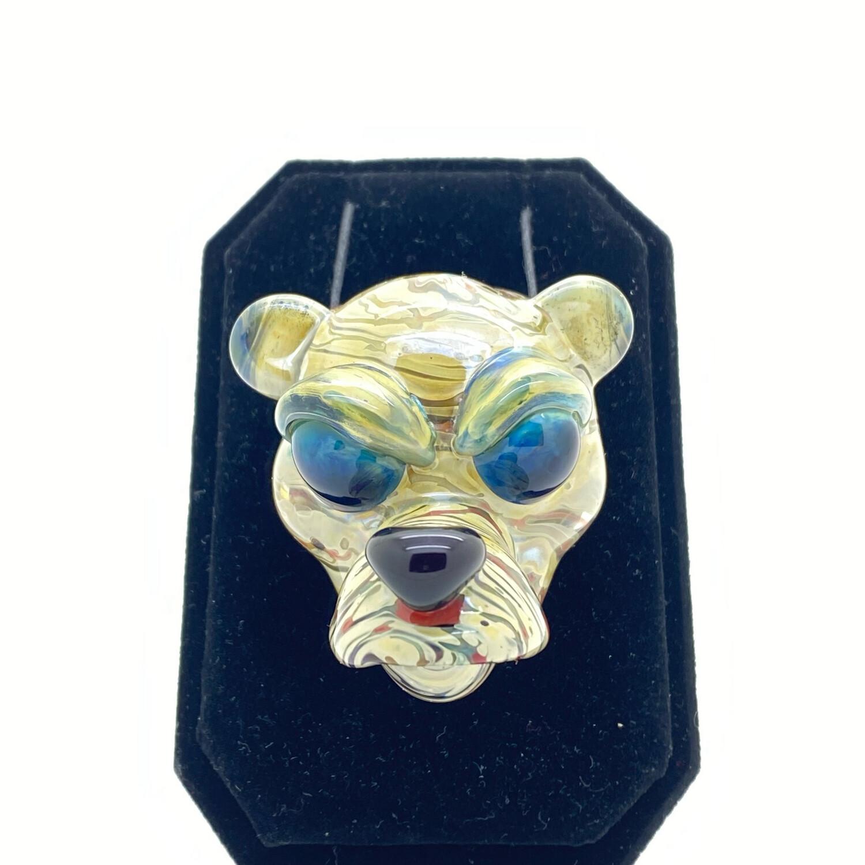 Cal Smith x Lizard Stix Bear Pendant