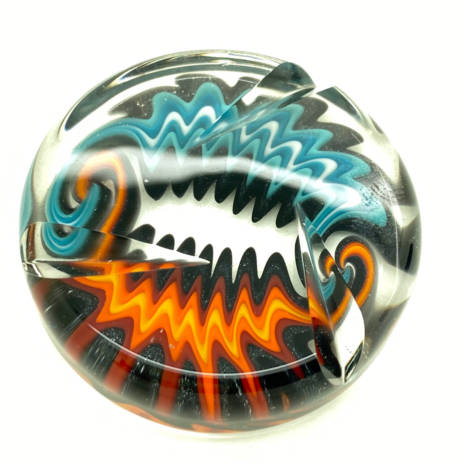 STR8 Glass x 8MM Glass Collab Spinner Coin #4