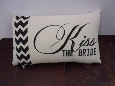 Kiss the Bride Pillow
