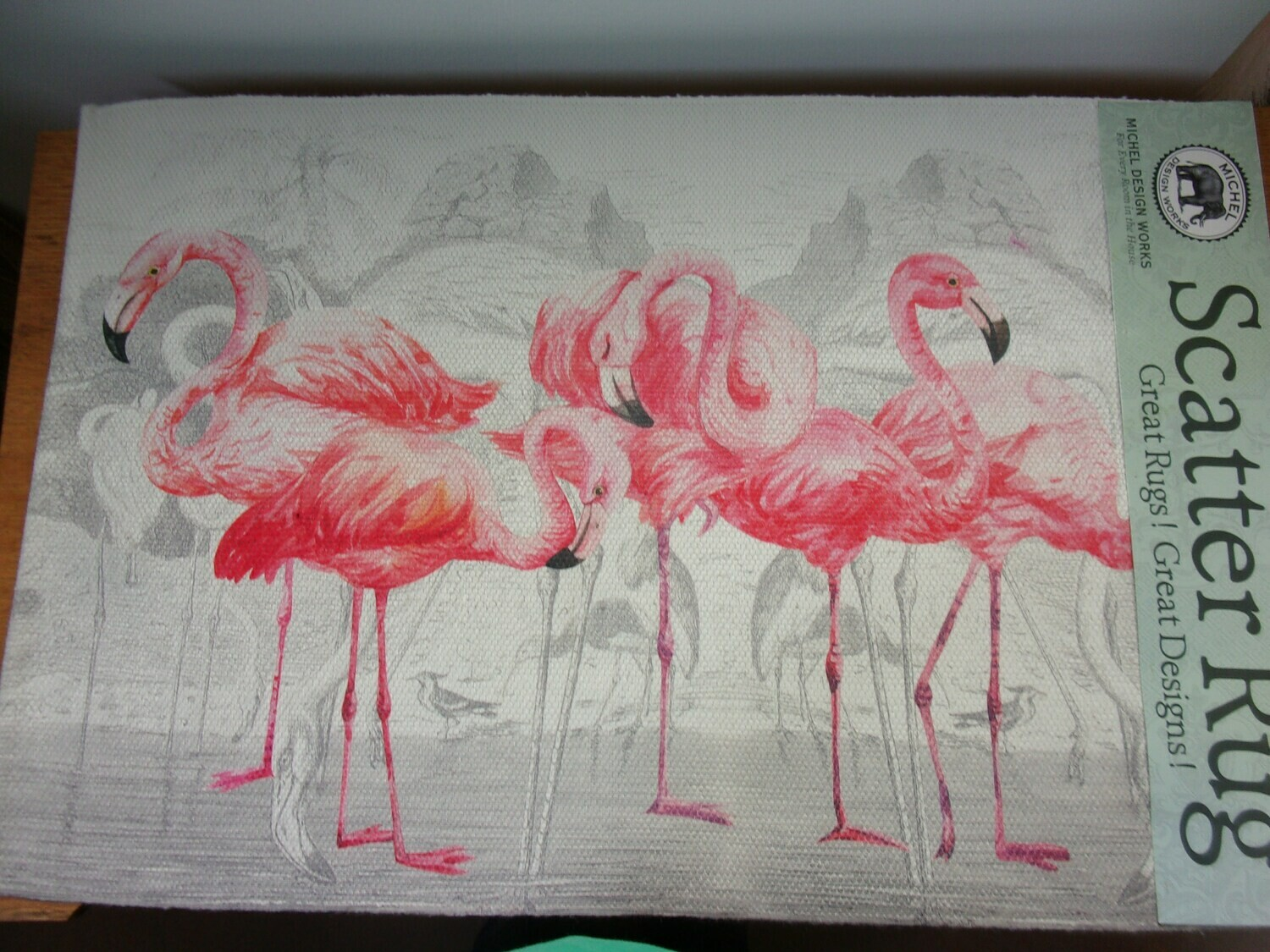 Flamingo Scatter Rug