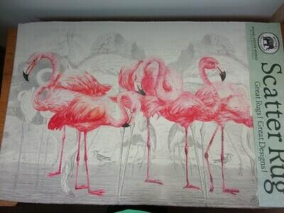 Flamingo Scatter Rug