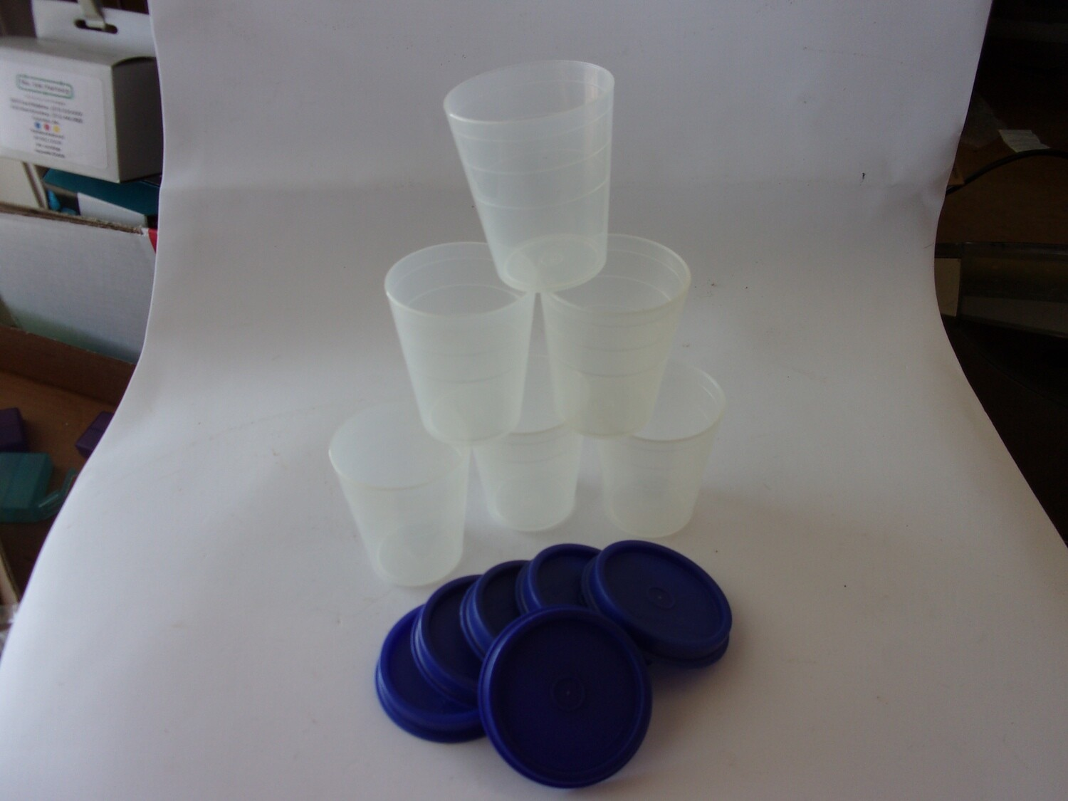New Vintage Tupperware Midgets