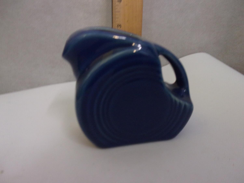 "Fiesta ware ""New"" Mini Disk Pitcher, Cobalt"