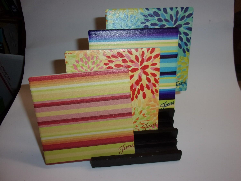 Fiesta ware Coasters