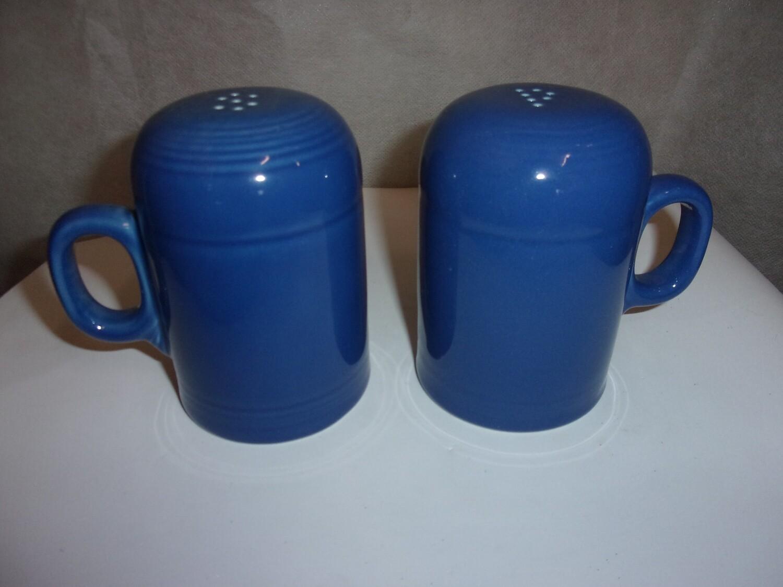 """Fiesta ware Range Top Salt/Pepper Shakers """"NEW"""""""