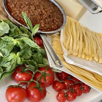 Beef Bolognese (Serves 3-4)