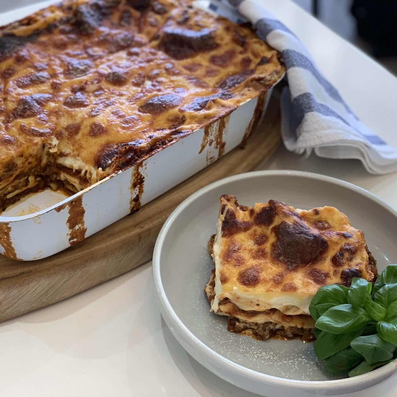 Beef Lasagne (Serves 3-4)