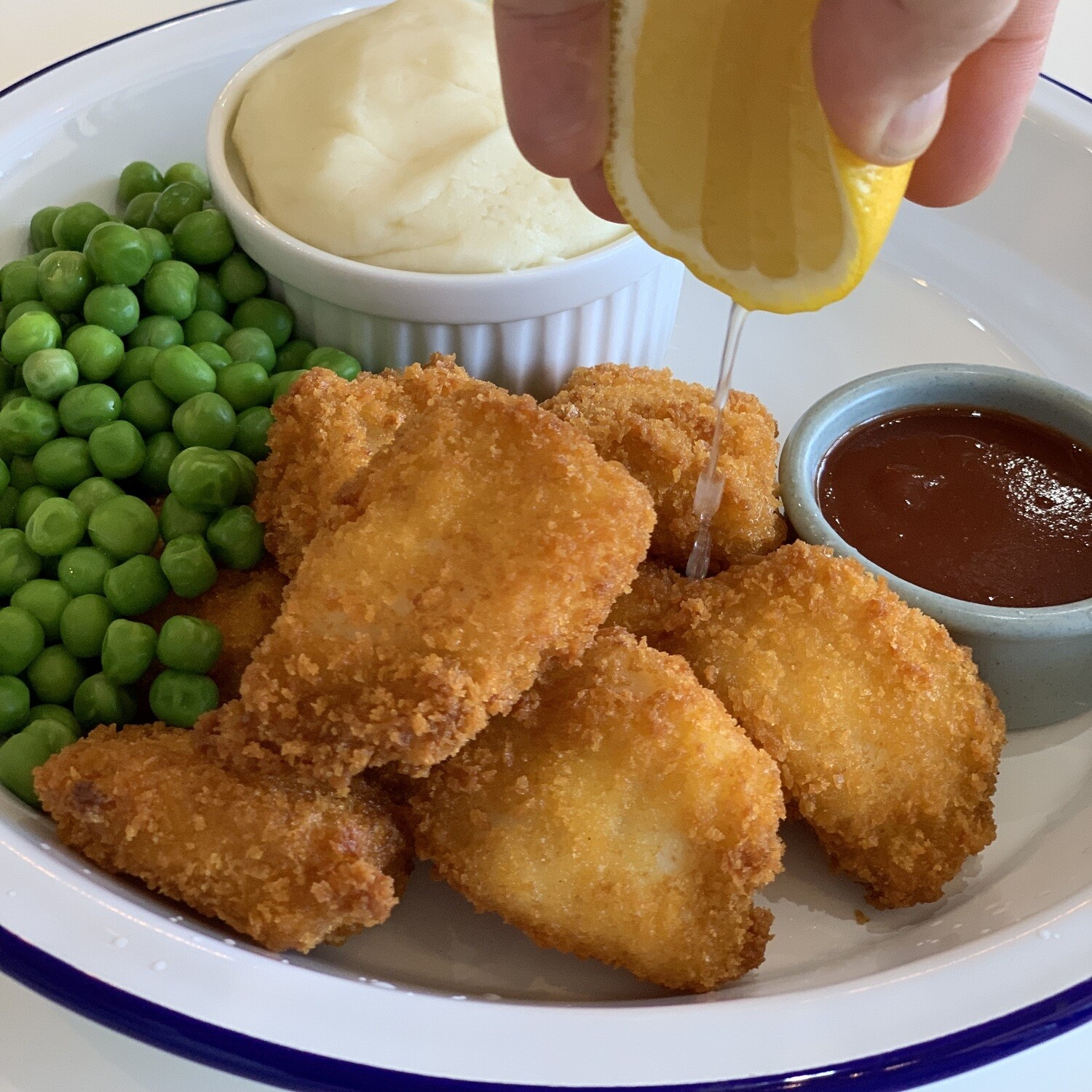 Real Free Range Chicken Nuggets (Serves 2-3)