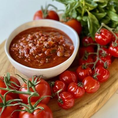 Italian Tomato Sauce (Serves 3-4)