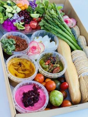 Moroccan Mezze Box