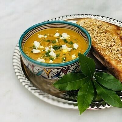 Moroccan Pumpkin Soup (VG) (GF)