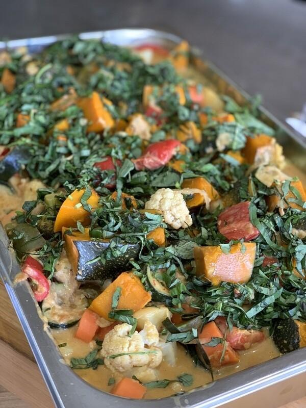 Thai Peanut Vegetable Curry (Mild)