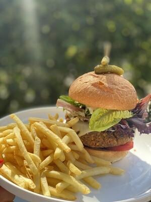 Lentil Burgers W Zalouk SAUCE (4PK)(VEG)