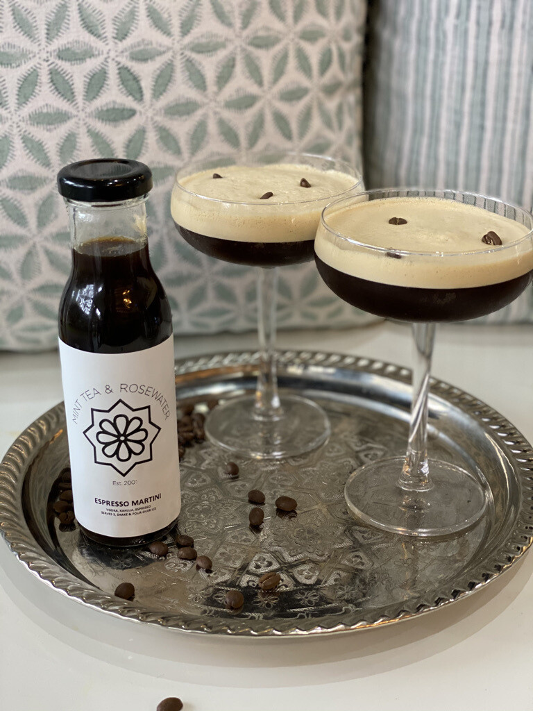 Espresso Martini (serves 2) Kahlua, Vodka, Espresso
